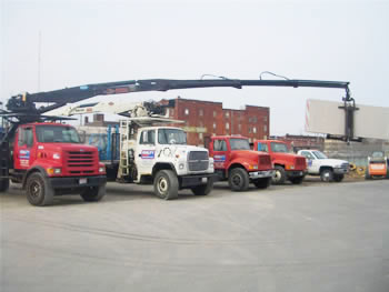 We have the right vehicle to get your materials to you.